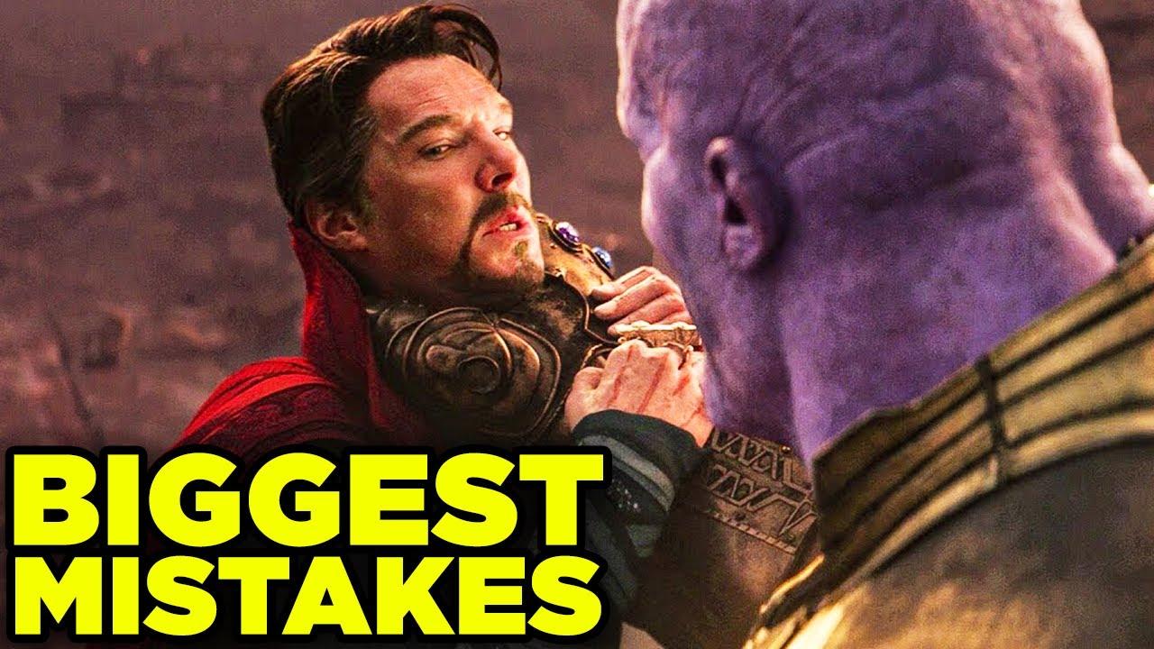 Doctor Strange WORST PLOT HOLES in Avengers Endgame & Infinity War! | BQ