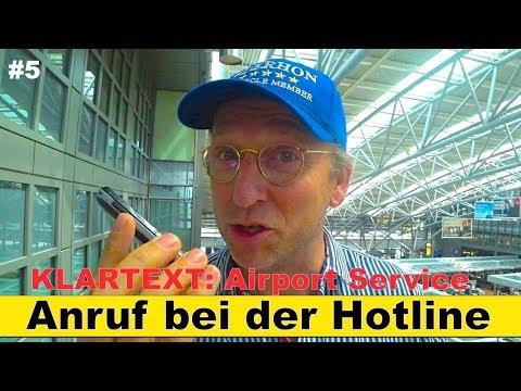KLARTEXT: Airport Service Hamburg #5 | Anruf bei der Hotline | Der HON Circle