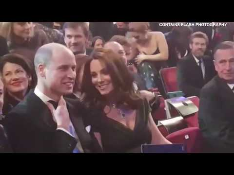 Prince William and Kate attend the 2018 BAFTA Awards