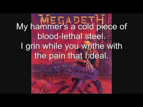 Megadeth-Good Mourning/Black Friday [WITH LYRICS!]
