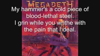Megadeth-Good Mourning/Black Friday [WITH LYRICS!]
