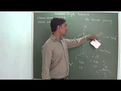 1.9 The boron family (s and p block elements) (Chemistry - Class 11 & Class 12)
