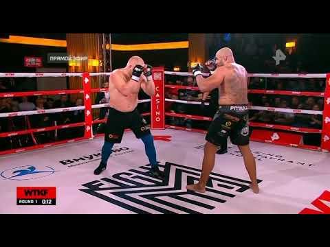 Сергей Харитонов - Фернандо Родригес /WTKF 5/Sergei Kharitonov vs  Fernando Santo Forte Rodrigues Jr
