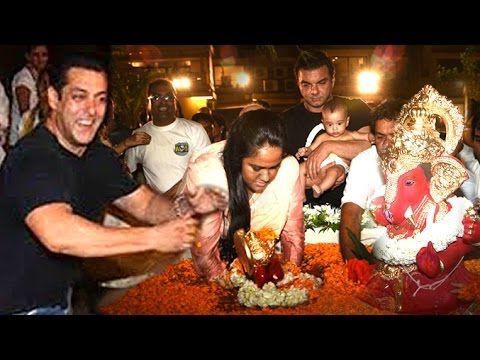Salman Khan Ganpati Visarjan Video HD -...