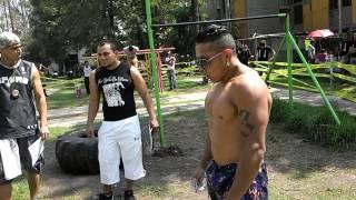 COMPETENCIA BARRAS CULHUACAN (26/10/14).- 4to. Lugar - Smoker │Barras México Street Workout│