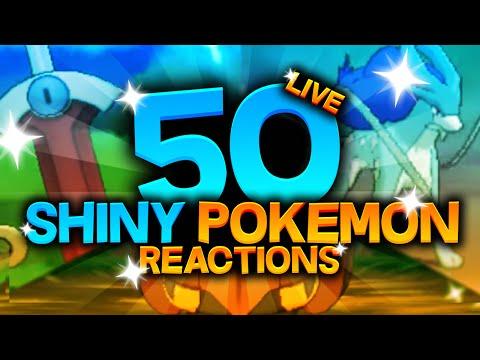 50 SHINY POKEMON LIVE REACTIONS! Pokemon Omega Ruby And Alpha Sapphire Shiny Montage!