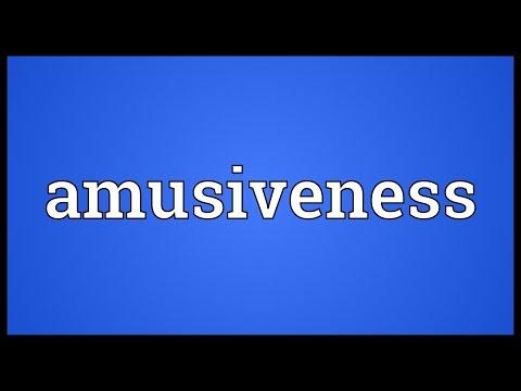 Header of amusiveness