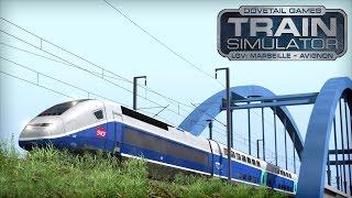 LET`S TEST Train Simulator 2016 | LGV: Marseille - Avignon