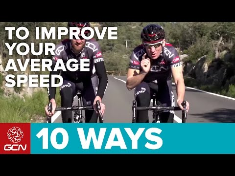 10 Ways To Improve Your Average Speed On The Bike – Cycle Faster!