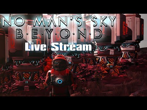 VEJA MINHA GRANDE ... BASE DE MINERAÇÃO - No Man's Sky Live Ep13 + vídeo
