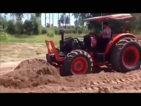 รถไถคูโบต้า เทอร์โบ ผู้ใหญ่สมาน ชลบุรี เสียงตัดเทอร์โบเพราะมาก By. Lek Modify