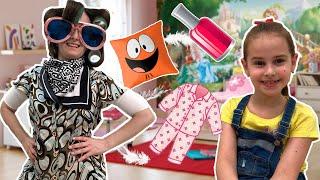 Соседка в Шоке  Пижамная  вечеринка с нарядами, косметикой и вкусняшками! Что устроила Алина в доме