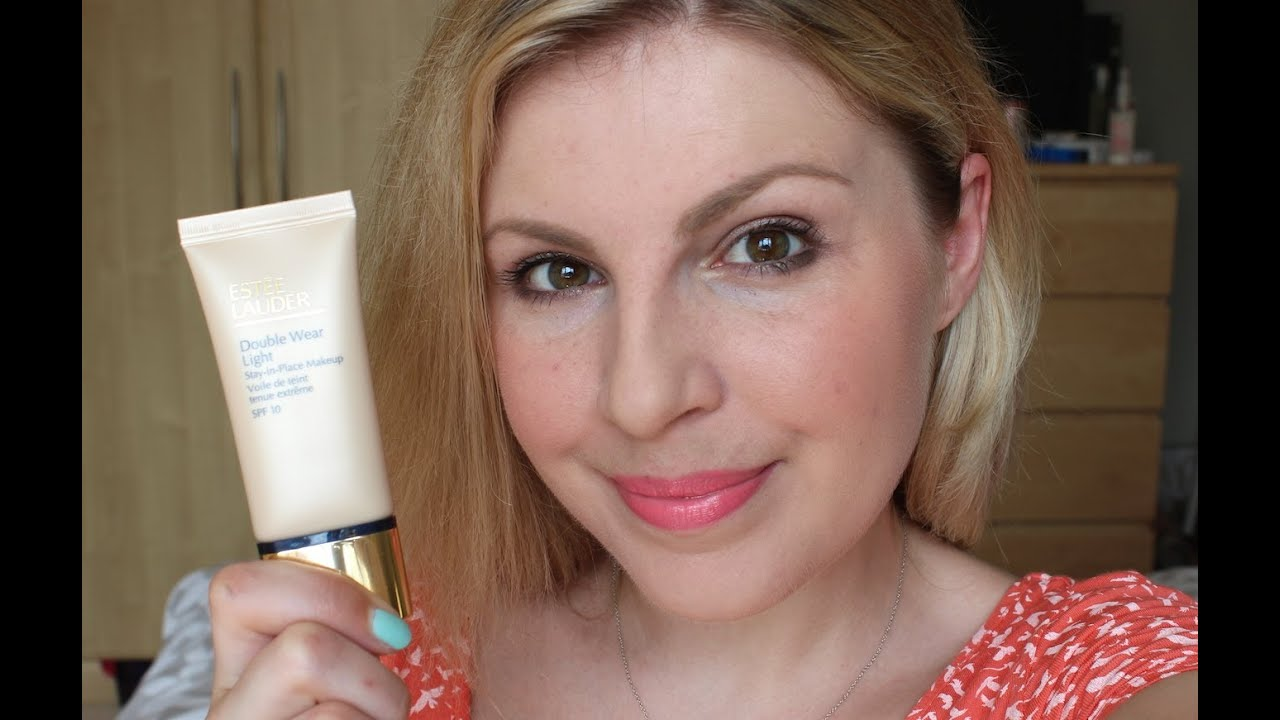 Charming Estee Lauder Double Wear Light   Review/Day Test Design Ideas