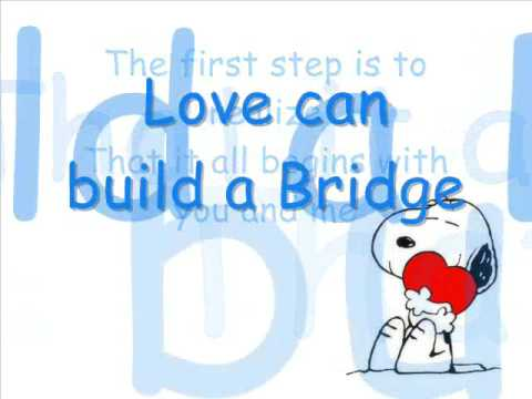Westlife - Love can build a Bridge - With Lyrics