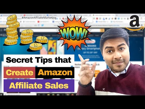 Earn Online from Amazon Affiliate Marketing with my Secrete Tips and Tricks - Digital Marketing thumbnail