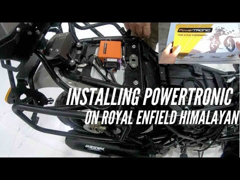 Installing PowerTRONIC ECU on the Royal Enfield Himalayan BS4 (2018) - Change in performance?
