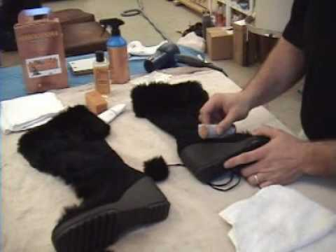 how to clean nubuck shoes youtube