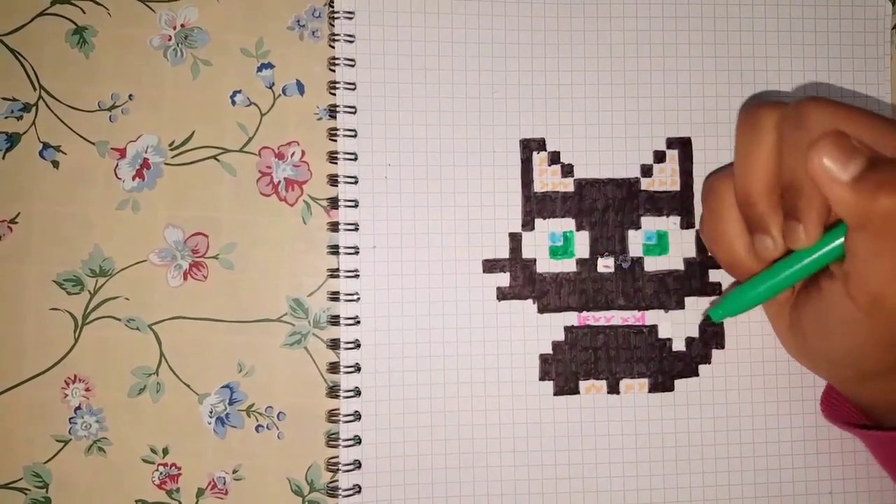 Tutocomment Faire Un Pixel Art En Chat