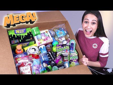 MEGA SLIJM UNBOXING! || Slime Sunday XL