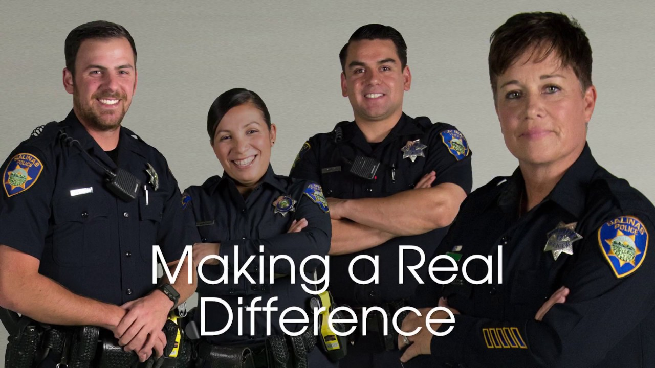 Would you like to make a real difference?   Salinas Police