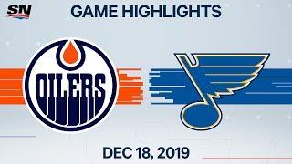 NHL Highlights   Oilers vs Blues – Dec. 18, 2019