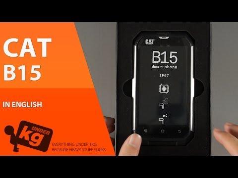 [EN] CAT B15 Dual SIM Unboxing