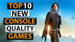 Top 10 UPCOMING Console Quality Games For Android 2020 || High Graphics