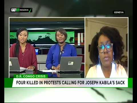 Benedicte Kumbi speaks on DR Congo protest