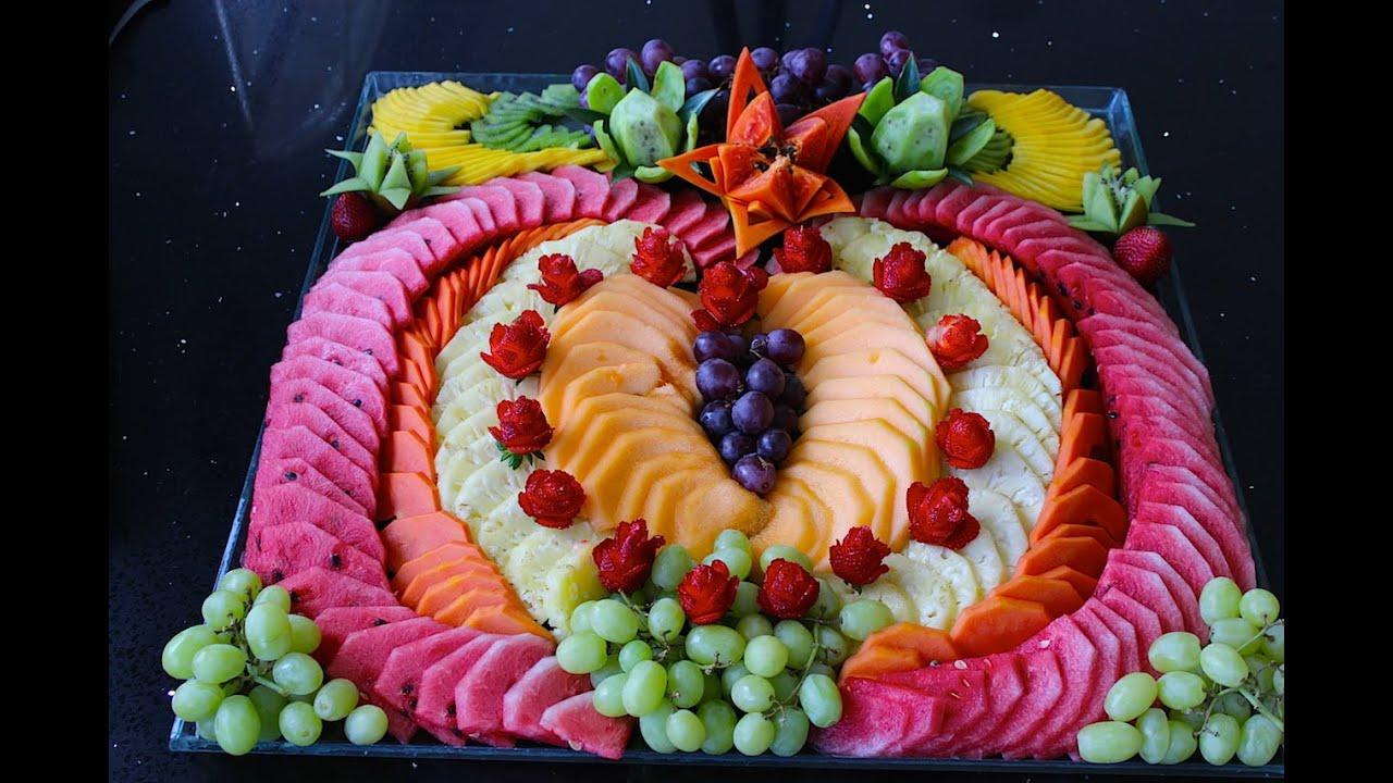 C mo hacer un coraz n de fruta picada para el dia de las for Como secar frutas para decoracion