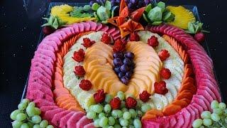 Cómo hacer un corazón de fruta picada para el dia de las madres #3