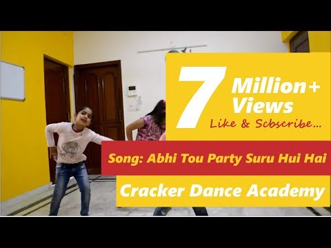 Abhi to party shuru hui hai, choreography by Shweta Gupta - Cracker Dance Academy