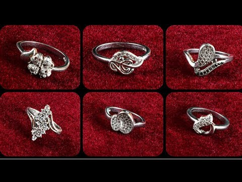 Simple Silver Rings for Women