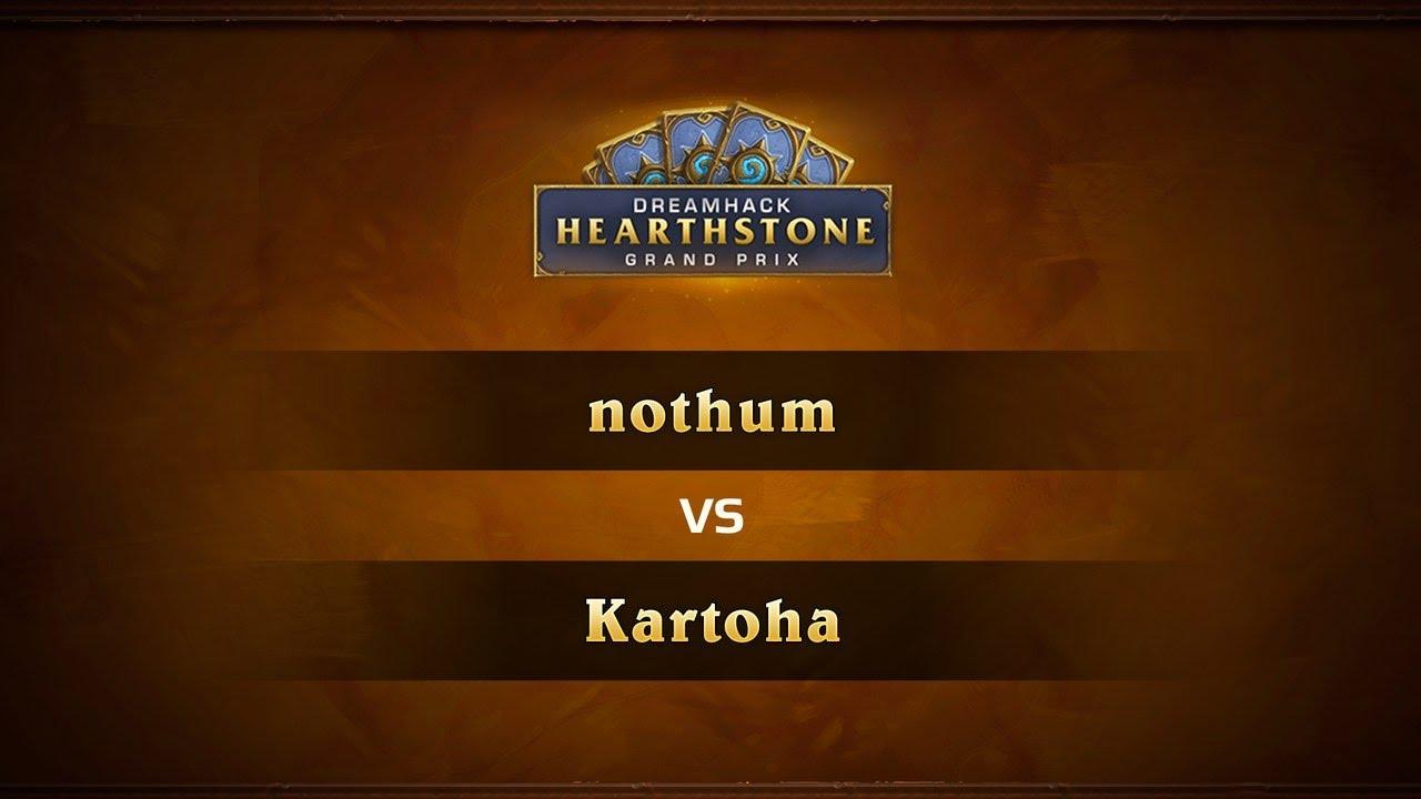 Nothum vs Kartoha, 1/4, DreamHack Valencia 2017
