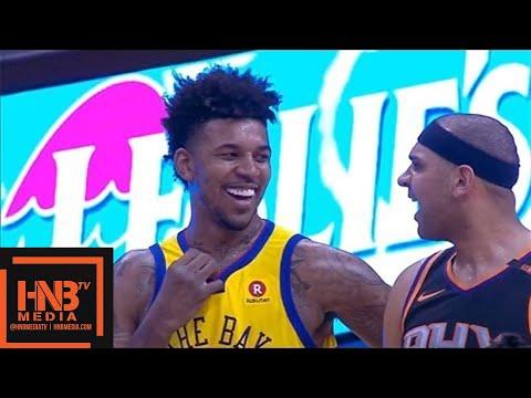 Golden State Warriors vs Phoenix Suns 1st Half Highlights / March 17 / 2017-18 NBA Season