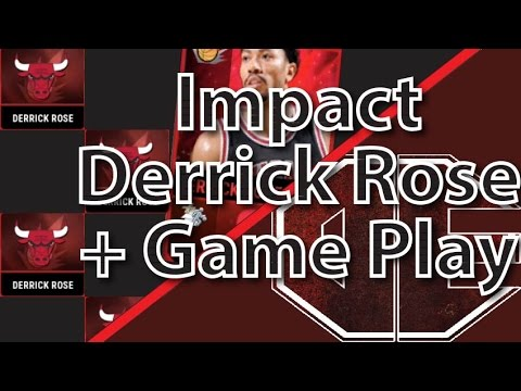 070789daabef NBA Live Mobile First Impact Player Set Completion Derrick Rose!!! With  Game Play
