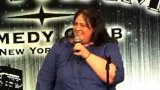 Kelley Lynn at Gotham Comedy Club 4-09