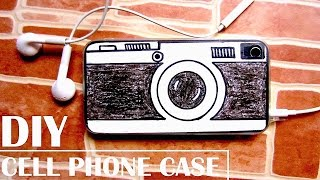 DIY Vintage Camera Phone Case | How to Customize a Phone Case