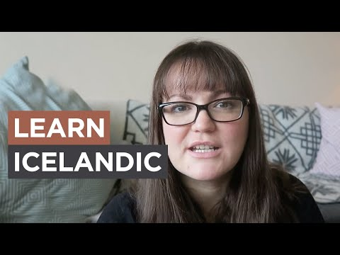 Learning Icelandic - Living in Iceland | Sonia Nicolson