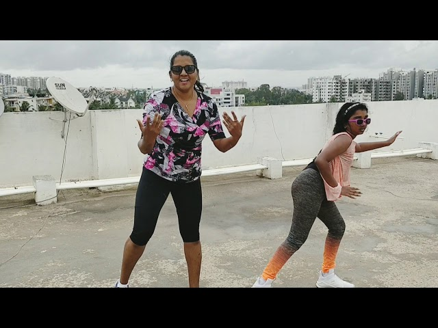 Side to Side (Ariana Grande) - Mother and Daughter Kids Zumba by Jeys and Fiona