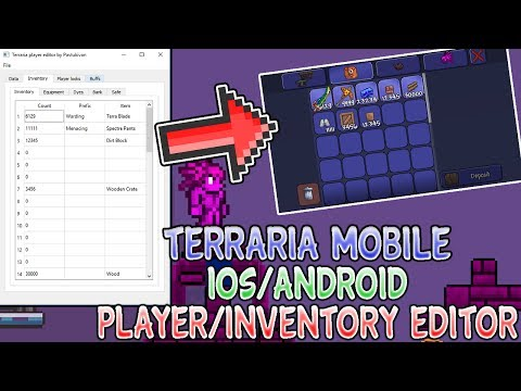 Terraria 1.2.4 Mobile Player Save/Inventory Editor [iOS/Android]
