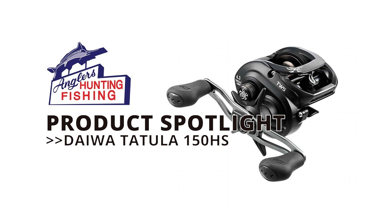 Daiwa Tatula 150HS Baitcast Reel