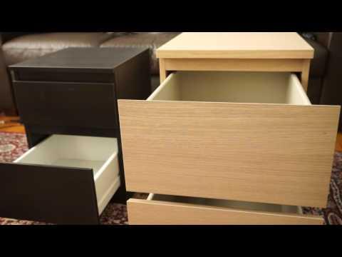 Ikea 2 Drawer Chests Kullen Vs Malm