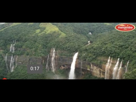 CHERRAPUNJI WATER FALLS / MEGHALAY ,INDIA.