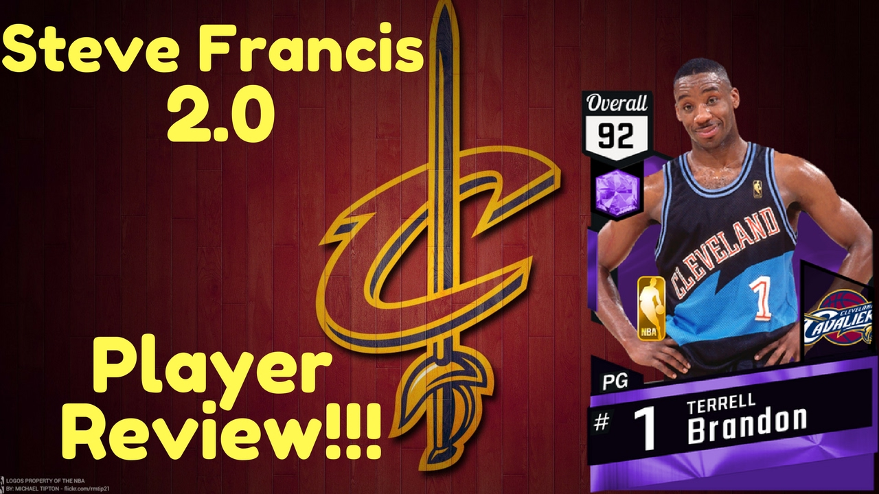 Nba2k17 Ameythst Terrell Brandon Player Review Steve Francis 2 0