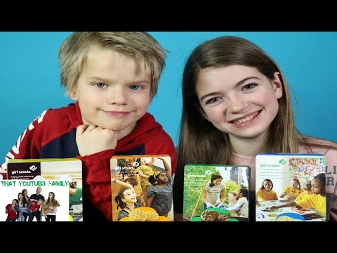 Real Girl Scout Cookies Vs Imitation / That YouTub3 Family