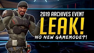 Overwatch Archives Event 2019 Leak! - Start Date but no new Gamemode?!