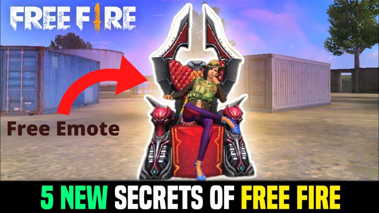 5 New Secrets Of Free Fire Advance Server ️ Garena Free ...