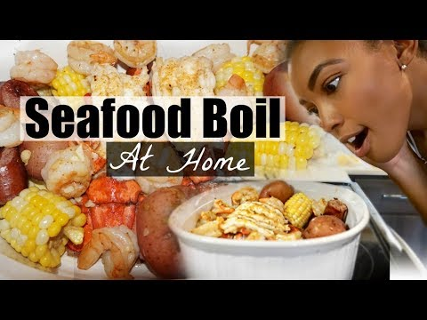 HOW TO MAKE A SEAFOOD BOIL AT HOME  Brittany Daniel