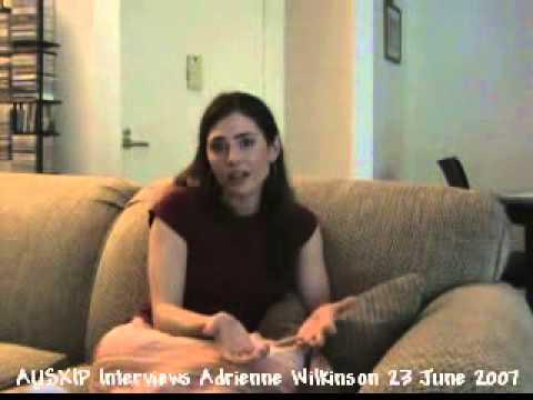 AUSXIP Interviews Adrienne Wilkinson 23 June 2007 clip 6 of 10