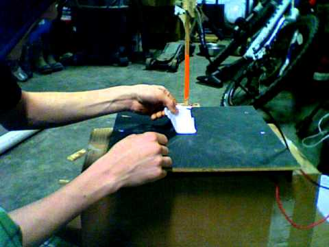 Simple Homemade Hot Wire Foam Cutter Youtube